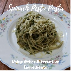 How to Cook Spinach Pesto Pasta Using Alternative Ingredients