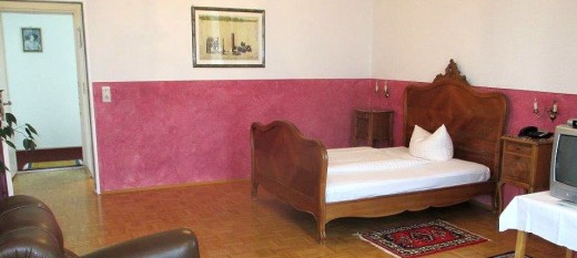 Hotel rooms with medieval feeling