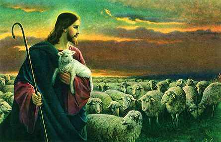 """The Lord is my shepherd, I shall not want"" (Ps 23:1)."