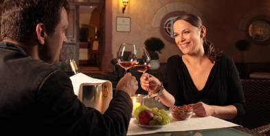 Romantic meals with medieval flair