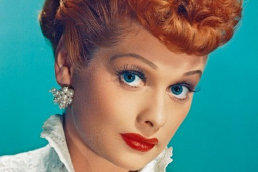 Lucille Ball was not a natural born redhead.
