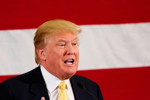 President Donald Trump is a natural born redhead.
