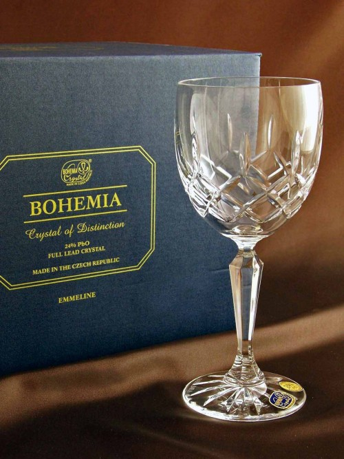 Bohemia is one of the world's finest brands of crystal wine glasses