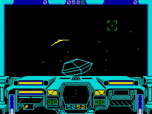 Starglider on the ZX Spectrum