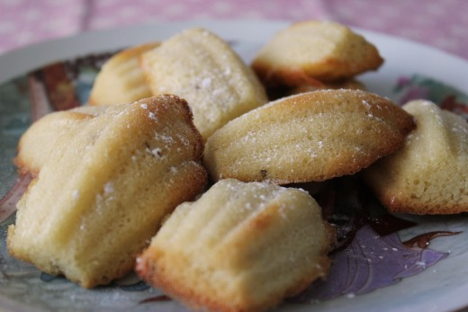 Baked goods such as these lavender madeleines are a great way to weave kitchen magic.