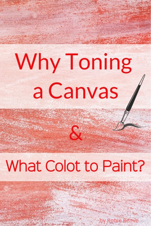 Beginning a painting on a colored ground speeds up the painting process and helps creating harmony. How do you pick and apply the toning colors? What are the advantages of doing it?