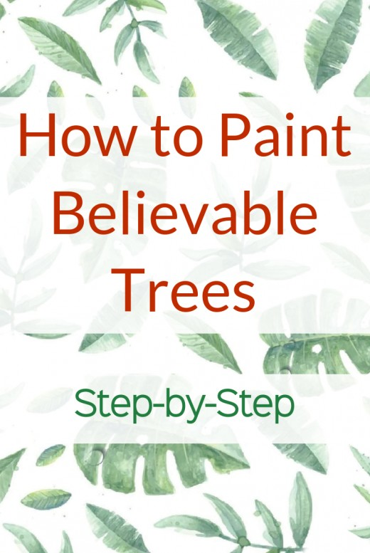 Learn the nine steps to painting trees, starting with the most important feature of the tree, its contour, and ending with the details. Robie Benve shares her nine secrets to painting trees that are believable and that present character and dimension