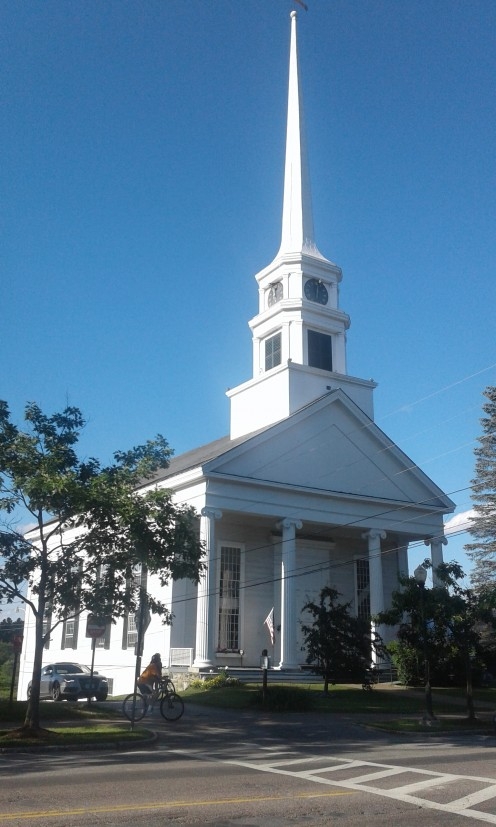 Stowe Community Church in Stowe, Vermont.