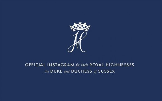 Prince Harry and Meghan Markle's Instagram profile