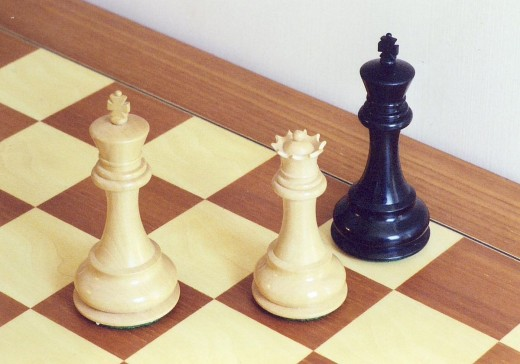 Here black is in checkmate