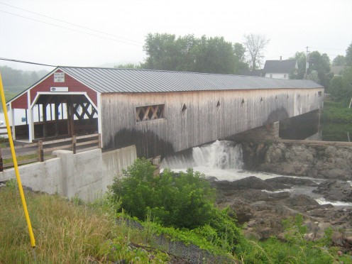 The Bath-Haverhill Covered Bridge in Woodsville, NH.