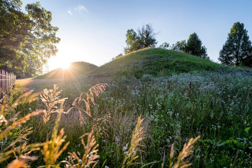 Indian Mounds Park in Woodbury, a suburb of Minneapolis-St. Paul.