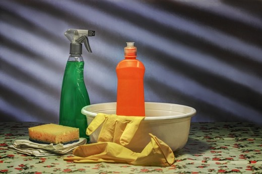 Overuse of household chemicals can trigger allergic reactions