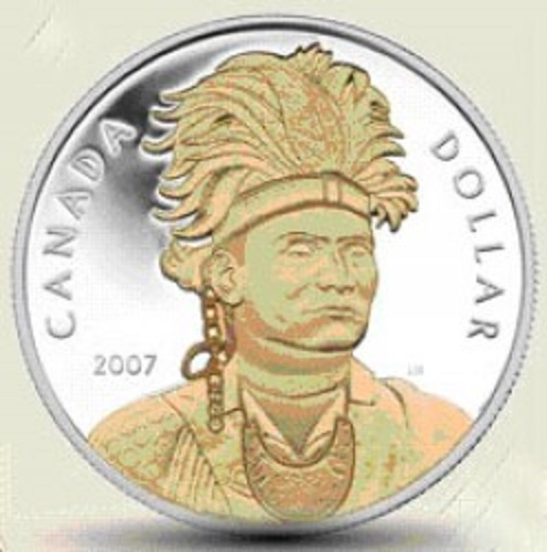 Chief Thayandaneega aka Joseph Brant