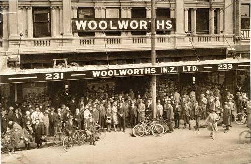 Original Woolworth's 5 & Dime.