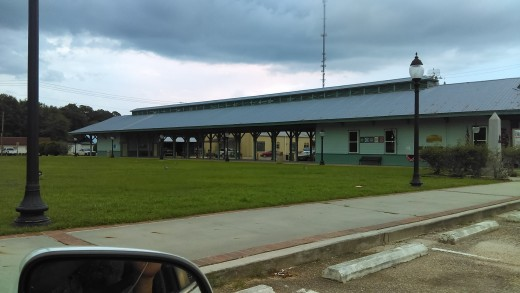 The Lulawissie train station.