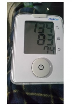 Blood Pressure - Your Pressure is a Little High Today