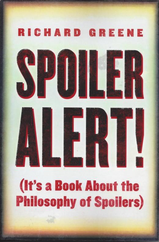 The Cover of 'Spoiler Alert' by Richard Greene