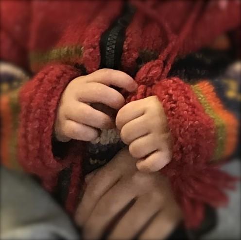 Precious hands designed for good deeds.
