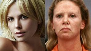 The incredible transformation of gorgeous actress, Charlize Theron....who became Aileen for the big screen.