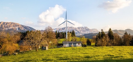 Home wind power system
