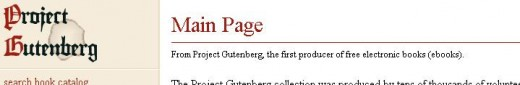 "Search and download eBooks from ""www.gutenberg.org"""