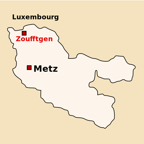 Zoufftgen, Moselle department