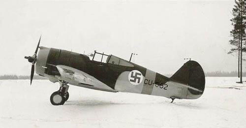 A Finnish Air Force Curtis Hawk 75A-3