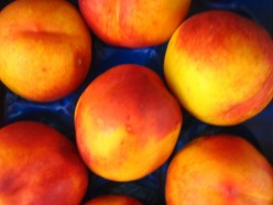 Fresh Peaches in Flavored Syrup; A Great Summer Recipe