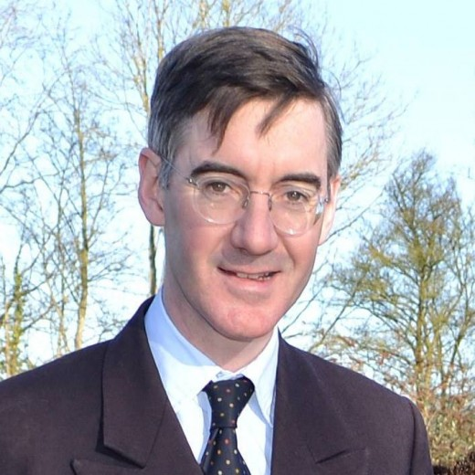 Tory Brexiteer and Potential May Successor:  Jacob Rees-Mogg.