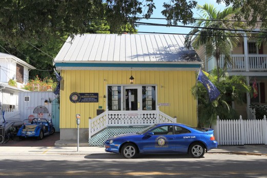 Office of the Secretary General of the Conch Republic.