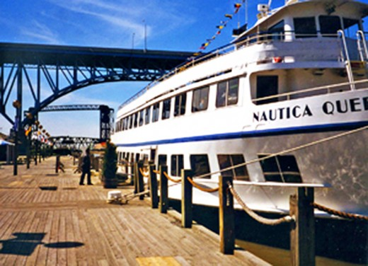 Available for cruise events on the Cuyahoga River and Lake Erie.