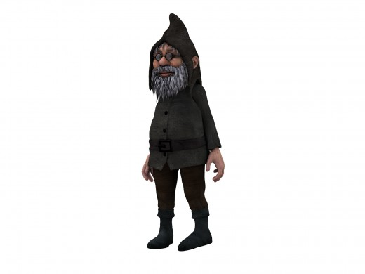 Older dwarfs can be quarrelsome and grumpy.