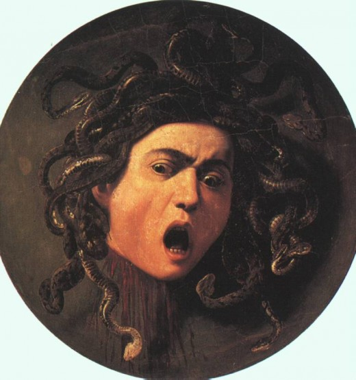 Caravaggio's Head of Medusa
