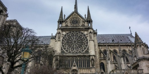 Notre Dame was an architectural masterpiece.