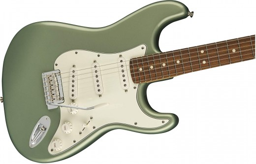 The Fender Payer Stratocaster is one of the best electric guitars for intermediate players.