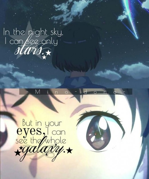 Your sparkly glittery eyes