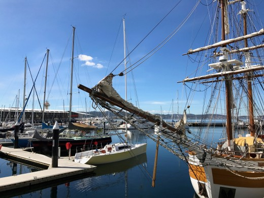 Boats at Hobart