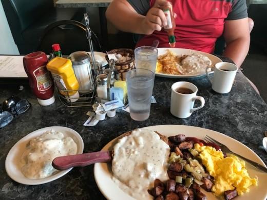 Breakfast in Hat Creek