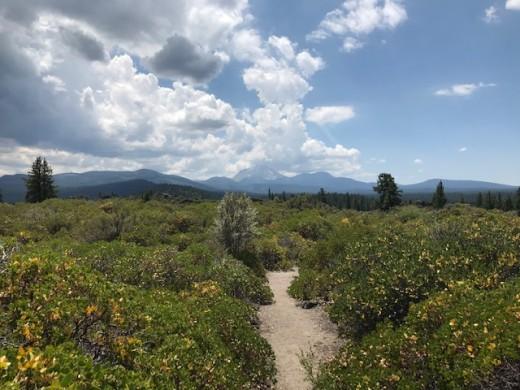 Hiking near Hat Creek