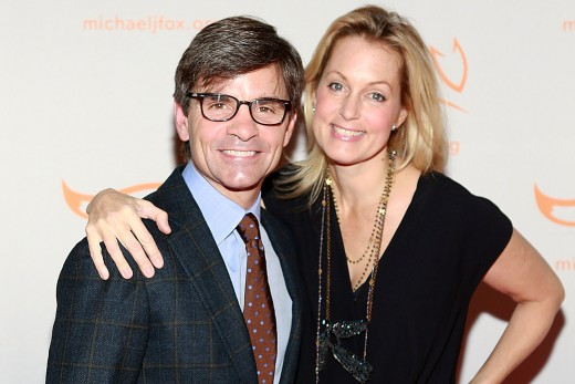 George Stephonolous and wife Ali Wentworth