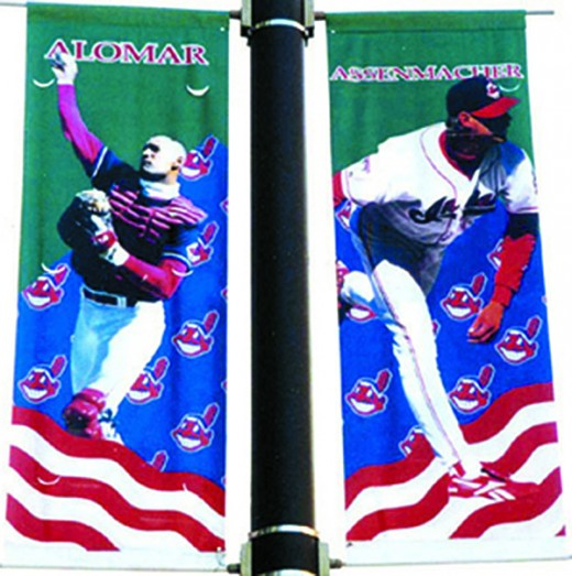 Tribe player banners by Rick Zimmerman, ZZ Design Inc.