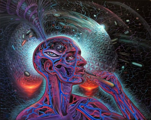 This Artwork Is From Alex Grey
