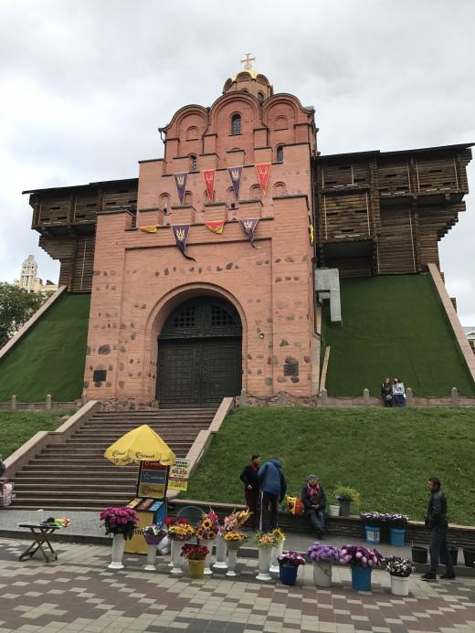 Kiev's Golden Gate