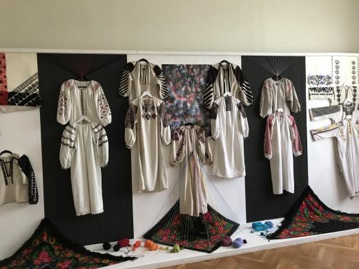 Traditional Ukrainian Clothing Exhibit