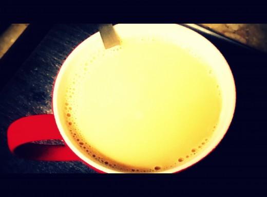Healthy morning tea