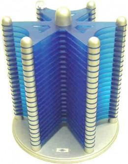 A CD rack can be futuristic.