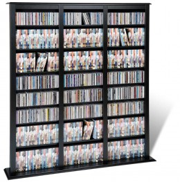 If you have the discs, you can find CD/DVD Storage large enough to hold them all!