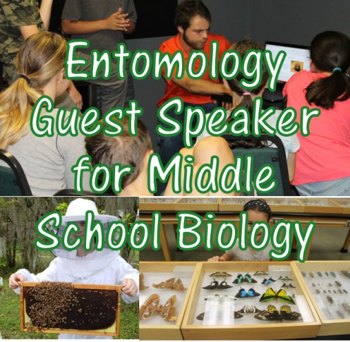 Entomology Guest Speaker: Beneficial Insects Lesson for Middle School Biology