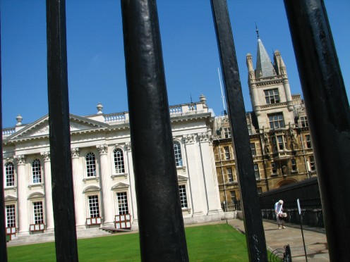The Senate House where students graduate